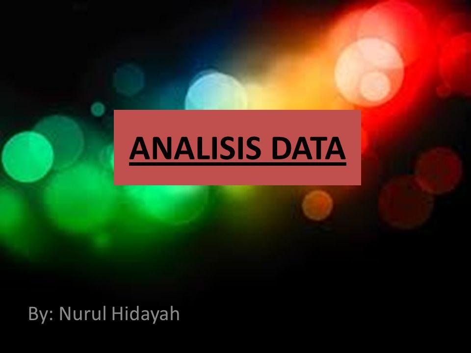 Data DATA terbagi atas DATA KUALITATIF dan DATA KUANTITATIF DATA KUALITATIF : Data yang dinyatakan dalam bentuk bukan angka.