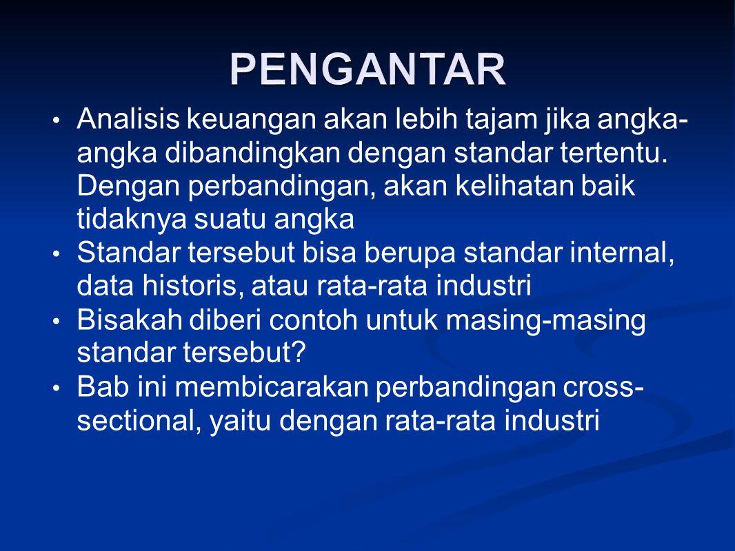 Kesamaan dalam jenis bahan baku atau supplier Kesamaan dari sisi permintaan Kesamaan dalam atribut keuangan Gabungan dari beberapa definisi Lihat klasifikasi industri yang dikeluarkan oleh Bursa Efek Jakarta, bagaimana komentar Anda.