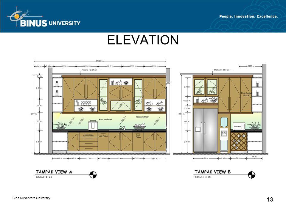 ELEVATION Bina Nusantara University 13