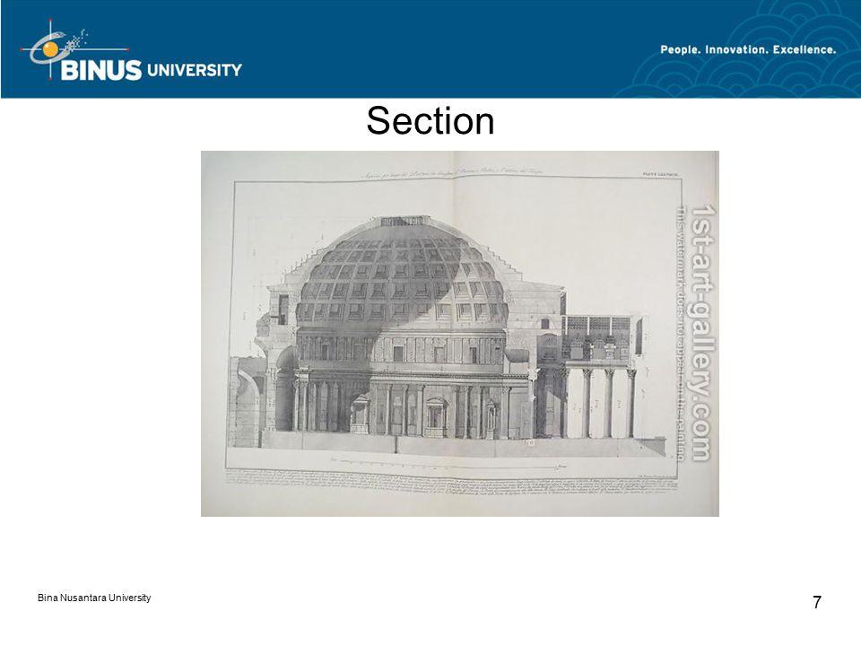 Section Bina Nusantara University 7