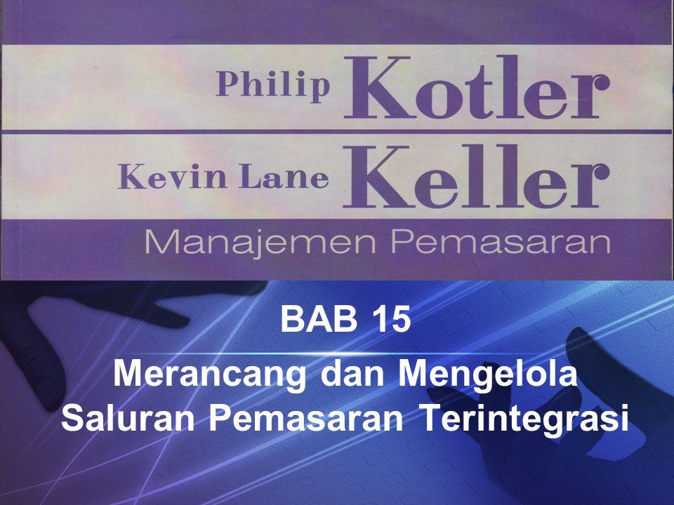 LOGO BAB 15 Merancang dan Mengelola Saluran Pemasaran Terintegrasi