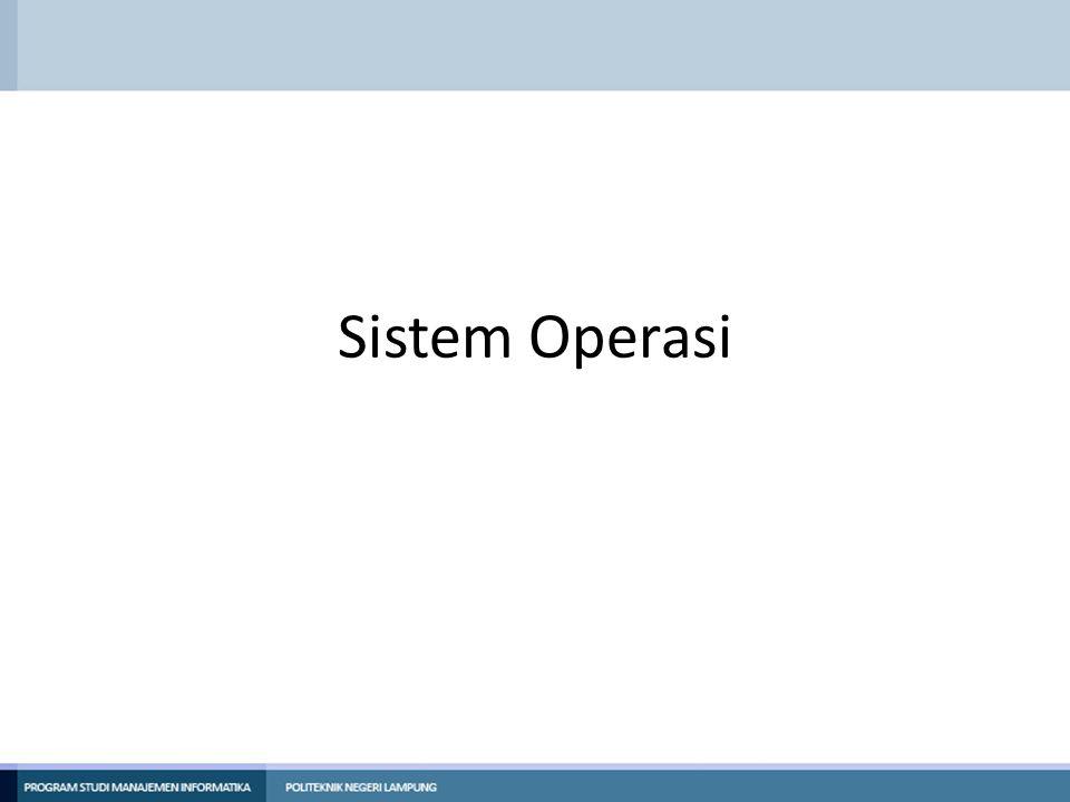 UNIX SYSTEM CALL -System Call Wait System call wait menyebabkan proses menunggu sinyal (menunggu sampai sembarang tipe sinyal diterima dari sembarang proses).