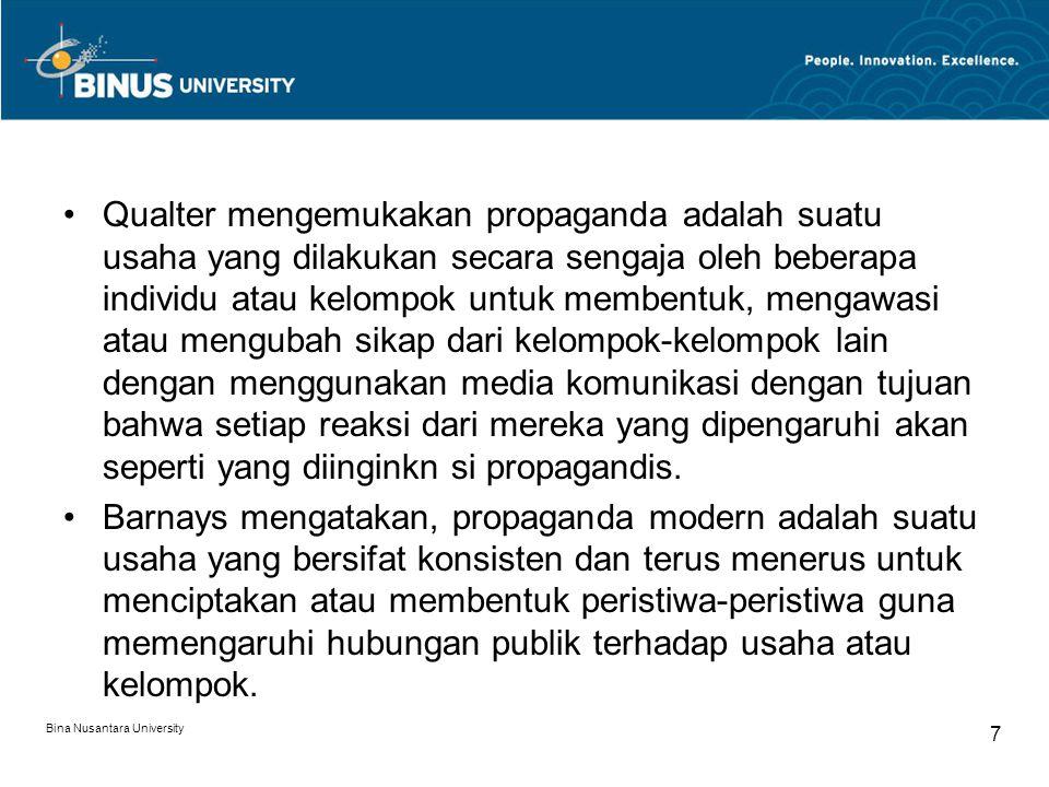 Alat-alat Propaganda 1.Name Calling Definisi.