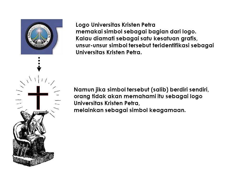 BINGUNG ??? Lihat contoh berikut... Dalam hubungannya dengan logo, simbol dapat menjadi unsur dari sebuah logo. Sehingga sebuah logo dapat diartikan s