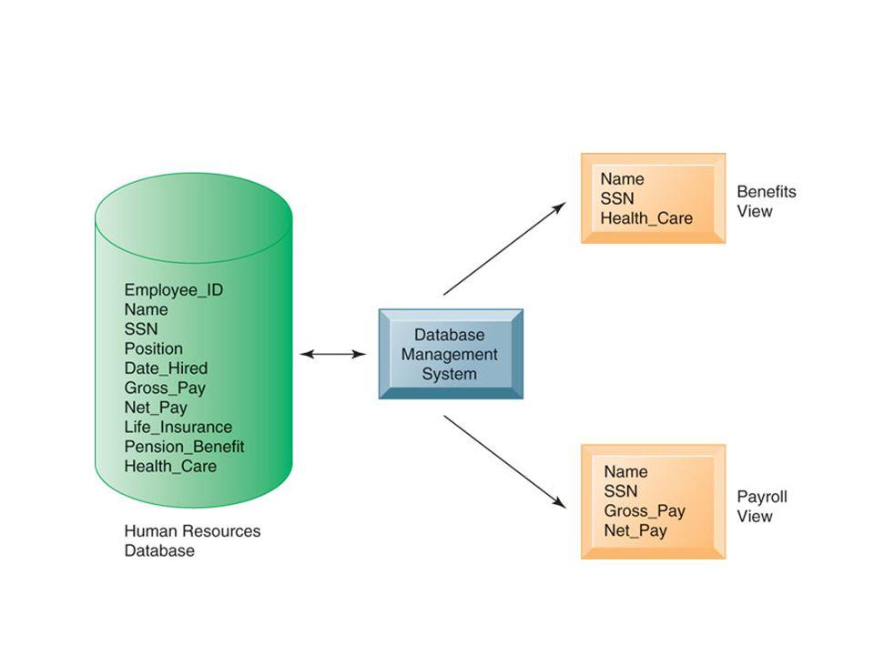 How a DBMS Solves the Problems of the Traditional File Environment Relational DBMS Merupakan tipe DBMS populer saat ini baik untuk PC maupun untuk komputer yang lebih besar dan mainframes.