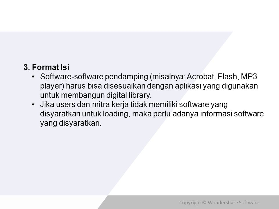Copyright © Wondershare Software 3.