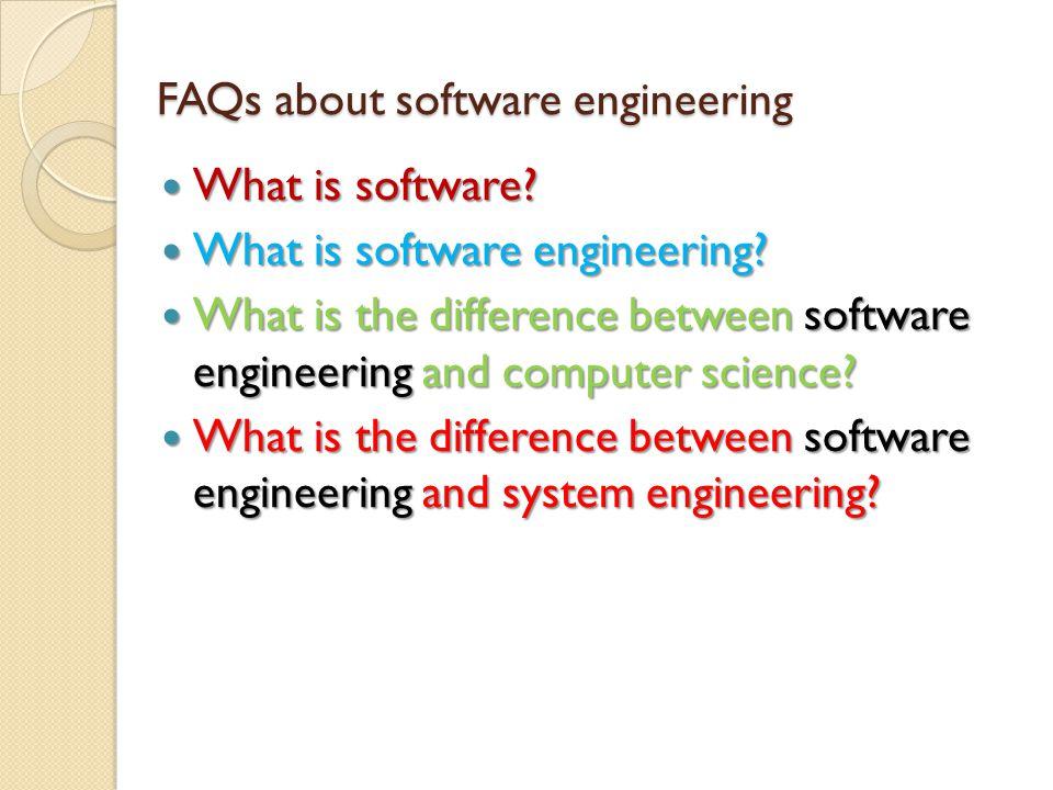 Jadi Software Engineering terutama untuk menjawab masalah: Kualitas Perangkat Lunak Kualitas Perangkat Lunak ◦ Menentukan kehandalan sistem komputer.
