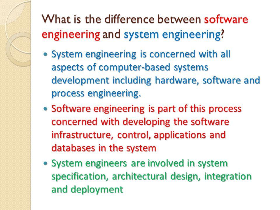 Software Engineering Software engineering berhubungan dengan teori- teori, metoda-metoda dan alat-alat (tools) untuk pengembang perangkat lunak profesional.