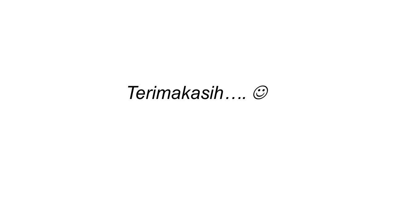 Terimakasih….