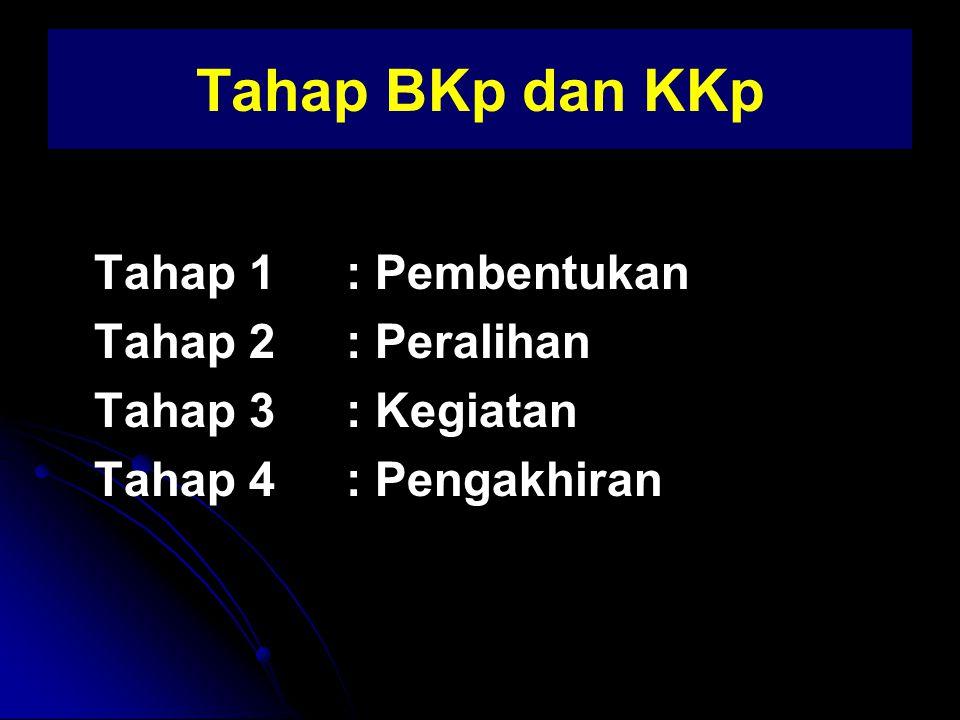 KKp 1.Terfokus pada pembahasan masalah pribadi salah satu anggota kelompok secara bergantian 2.