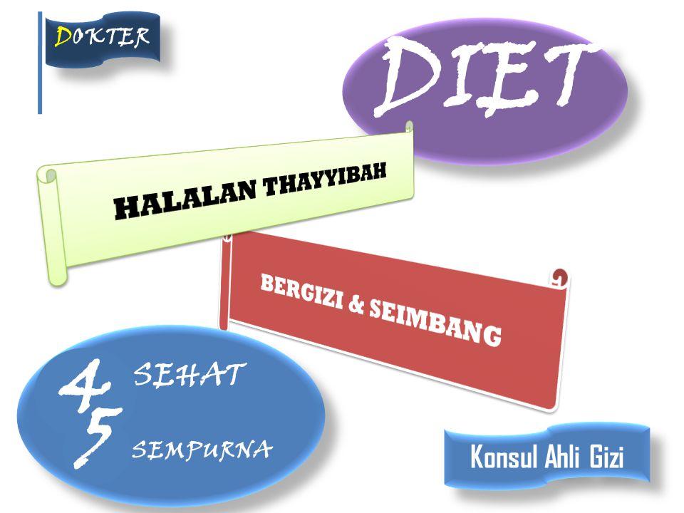 DIET DOKTER SEHAT SEMPURNA SEHAT SEMPURNA 4 5 Konsul Ahli Gizi
