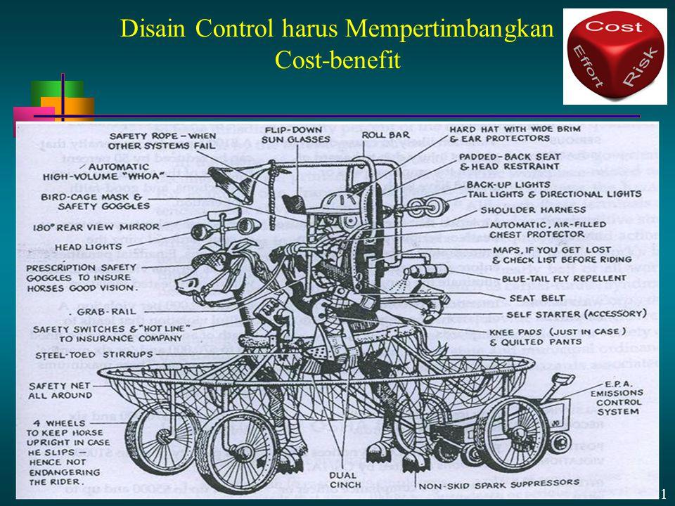 13 - 21 Disain Control harus Mempertimbangkan Cost-benefit
