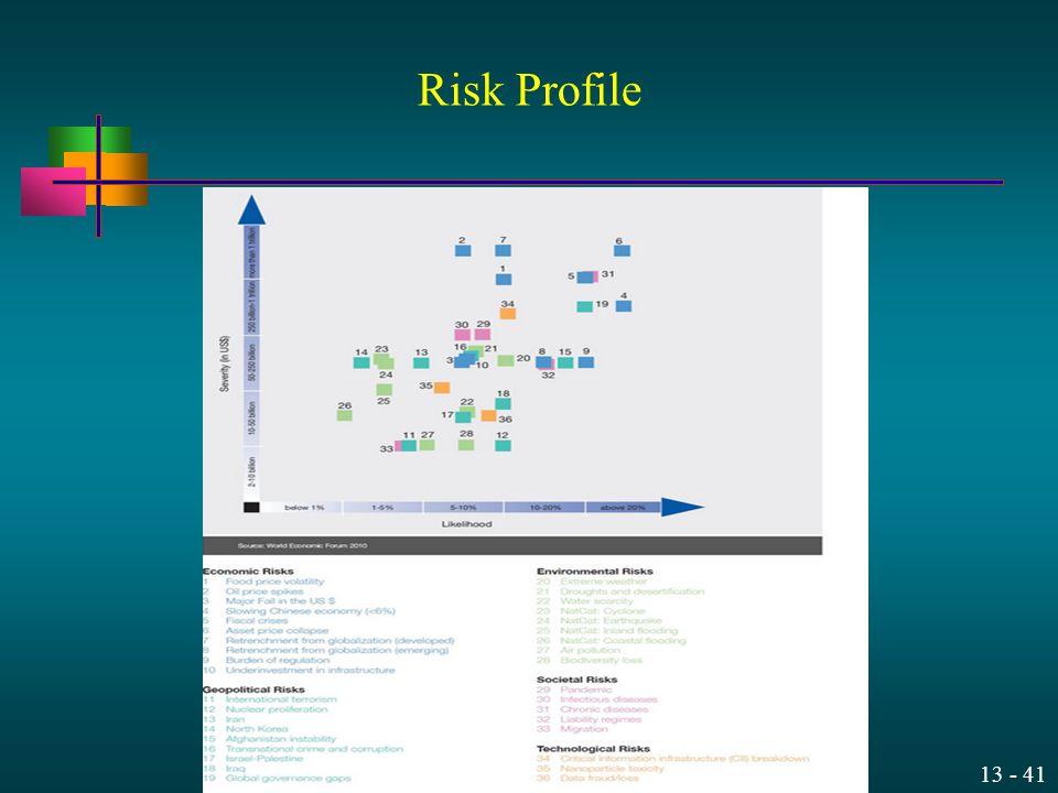 13 - 41 Risk Profile