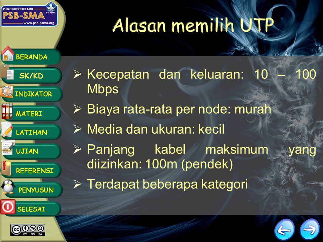 Kabel STP & UTP KABEL STP KABEL UTP Klik