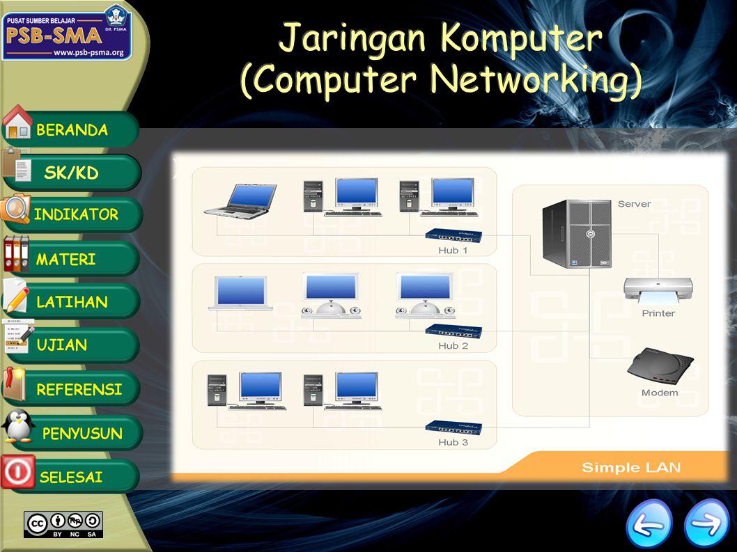 Mendeskripsikan fungsi jaringan Mengidentifikasi jenis perangkat keras dalam jaringan Mendeskripsikan kelebihan dan kekurangan kabel yang digunakan da