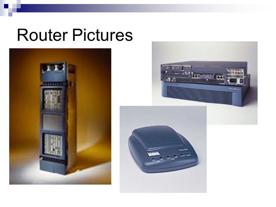 Router Pictures