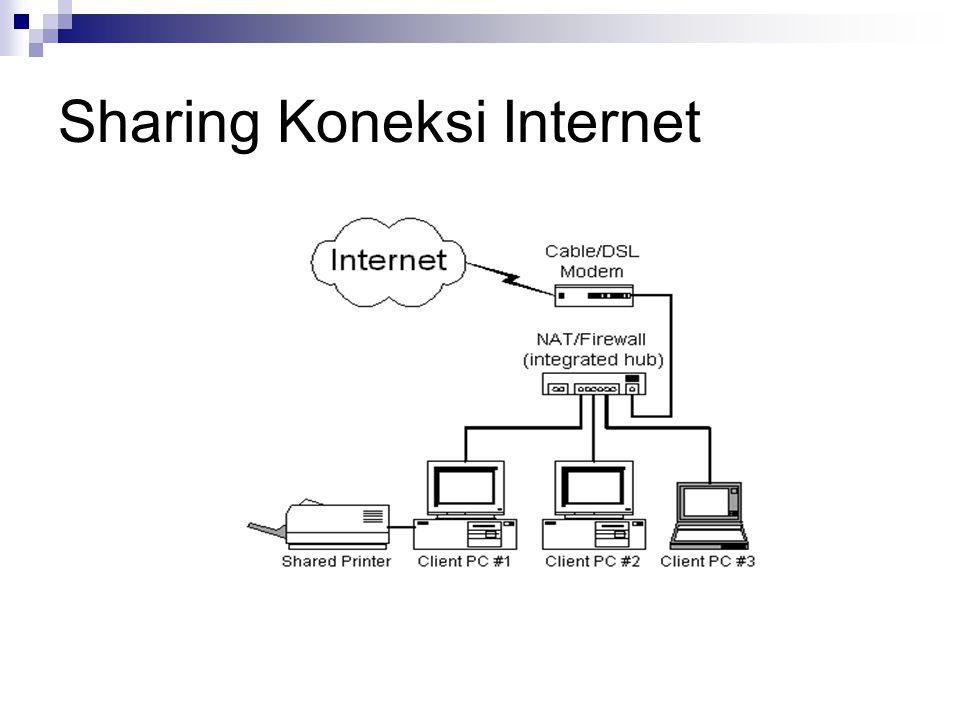 Sharing Koneksi Internet
