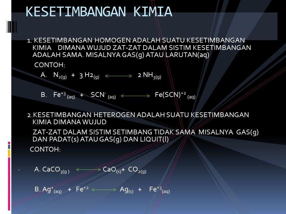 a.CaCO 3(s) CaO (s) + CO 2(g) b. AgCl (s) Ag + (aq) + Cl - (aq) c.