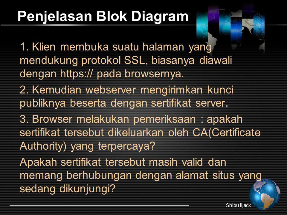 Penjelasan Blok Diagram 1.