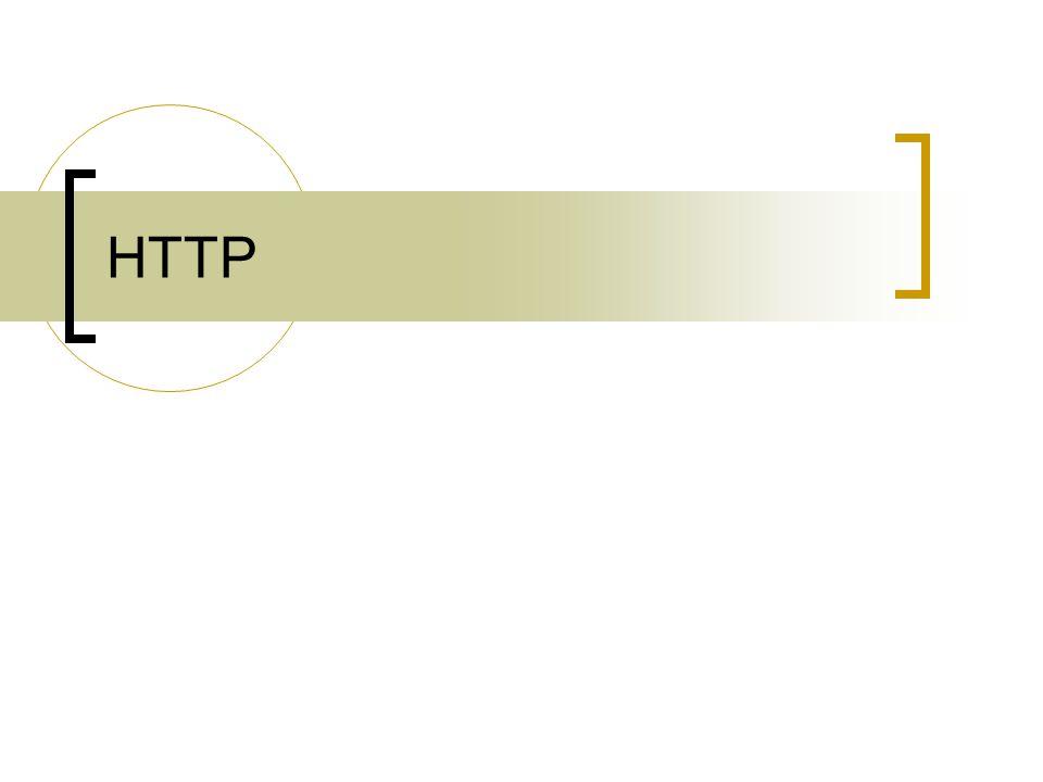 Protokol yang menangani aplikasi web TCP 80 Webserver  Apache, IIS, … Web Browser  Mozilla, Internet Explorer HTML (Hyper-Text Markup Language)  Dinamis : PHP, CGI, ASP