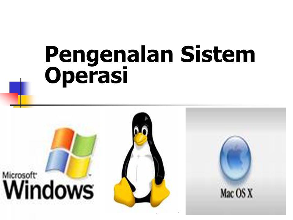 Sistem Operasi -21 Pengenalan Sistem Operasi