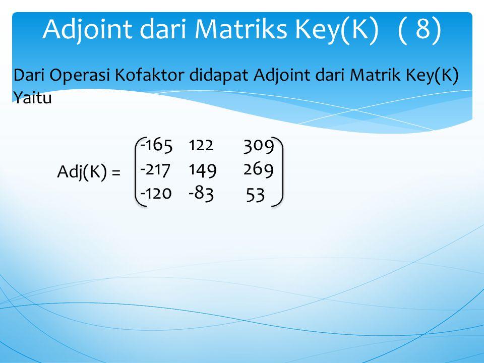 16 -17 -7 a 31 = -11 15 -12 19 -15 1 16 -17 -7 a 32 =-11 15 -12 19 -15 1 16 -17 -7 a 33 =-11 15 -12 19 -15 1 a 32 = - (( 16 * -12) – ( -11 * -7 )) a 3