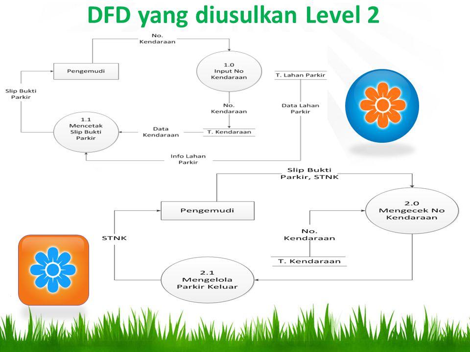 DFD yang diusulkan Level 2