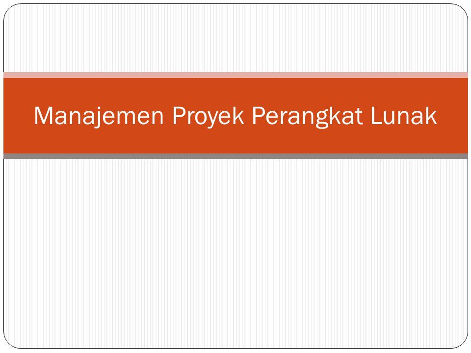 Proses Dalam Manajemen Proyek