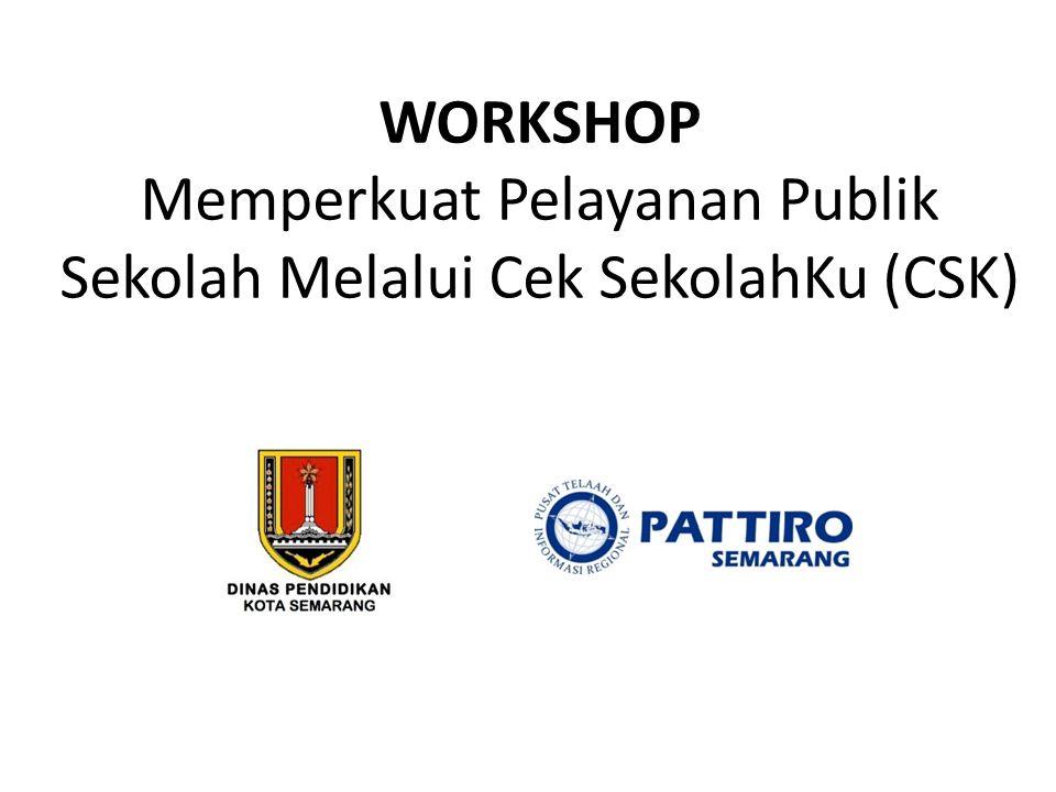 Evaluasi CSK di Semarang Sekolah yang terlibat hanya 5 sekolah, perlu diperluas.