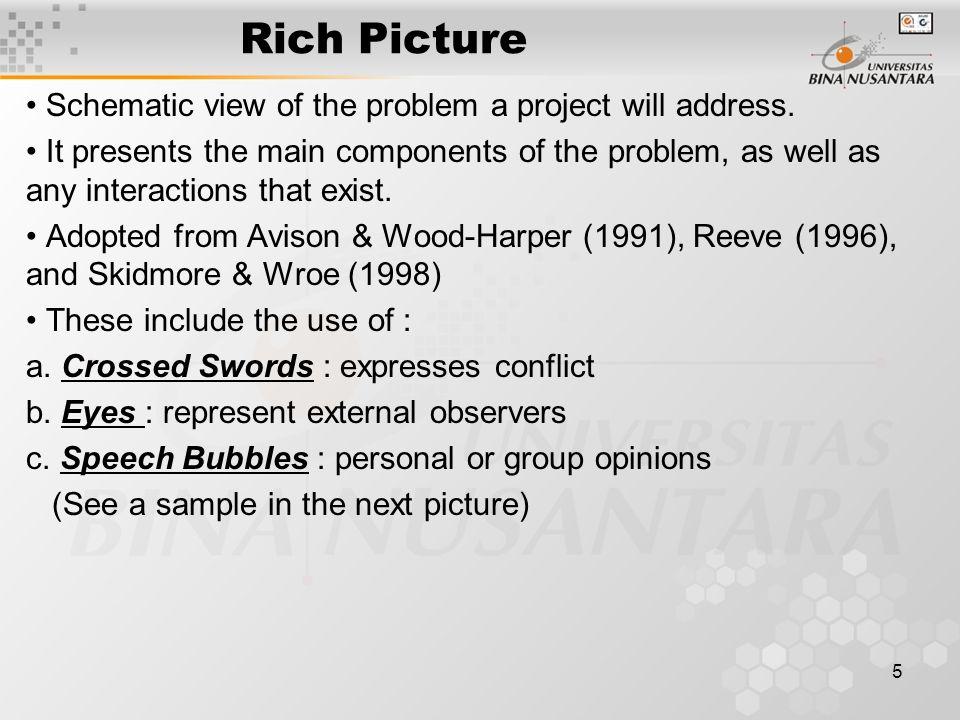 6 Rich Picture (2) Lihat Buku Referensi Utama halaman 236