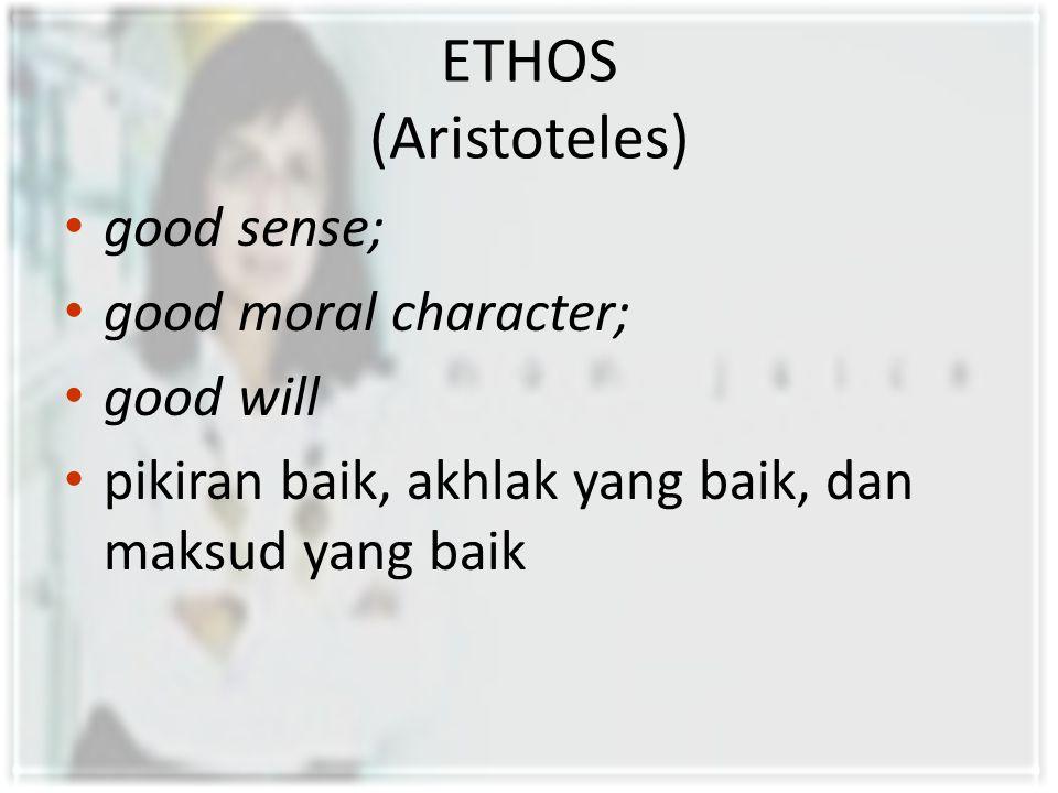 DIMENSI-DIMENSI ETHOS Menurut Herbert C.
