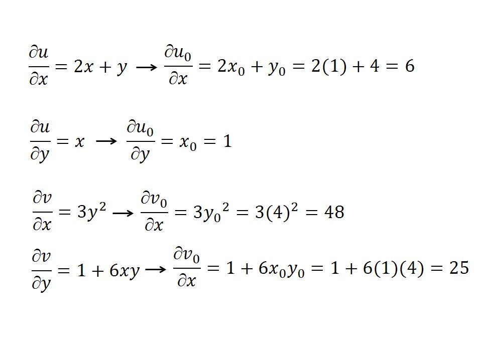 Dari persamaan (4.26) Dari persamaan (4.27) = 2,176471 = 1,6960784