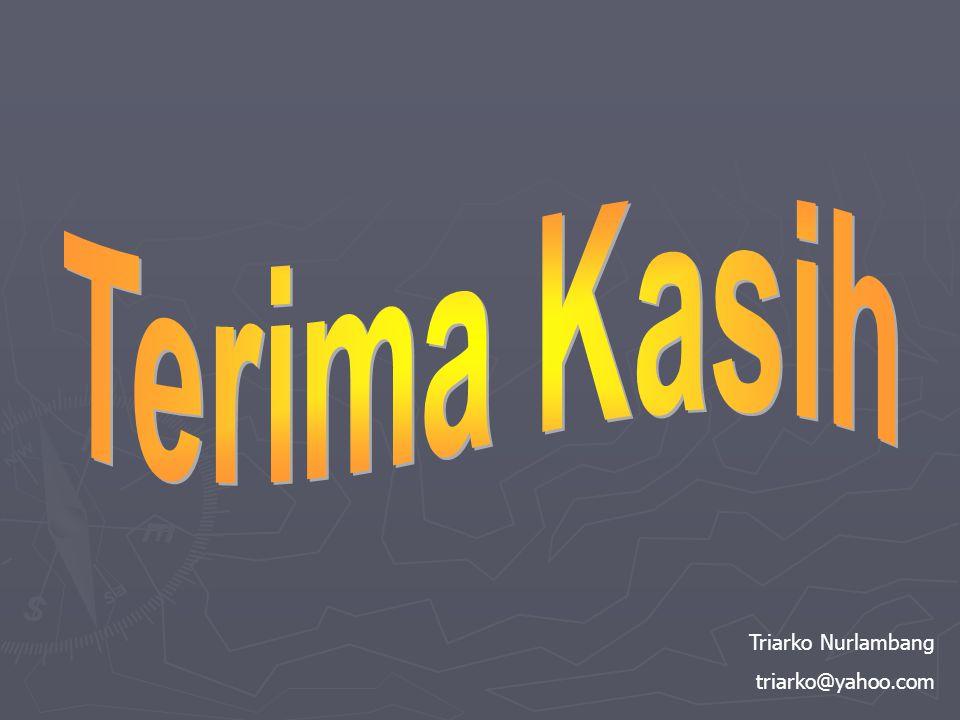 Triarko Nurlambang triarko@yahoo.com