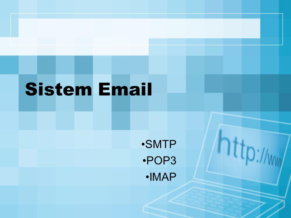 Sistem Email SMTP POP3 IMAP