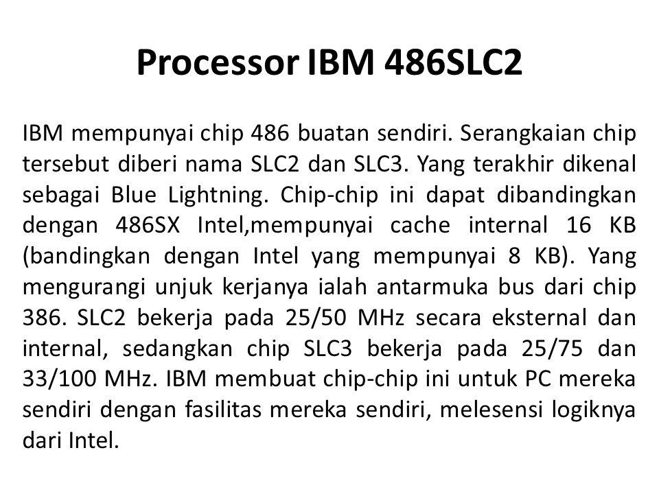 2.5 Pentium III Processor Berdasarkan pada mikro arsitektur P6, meru pakan media Intel MMX yang ditingkatkan dengan penyediaan Streaming SIMD Extensions.