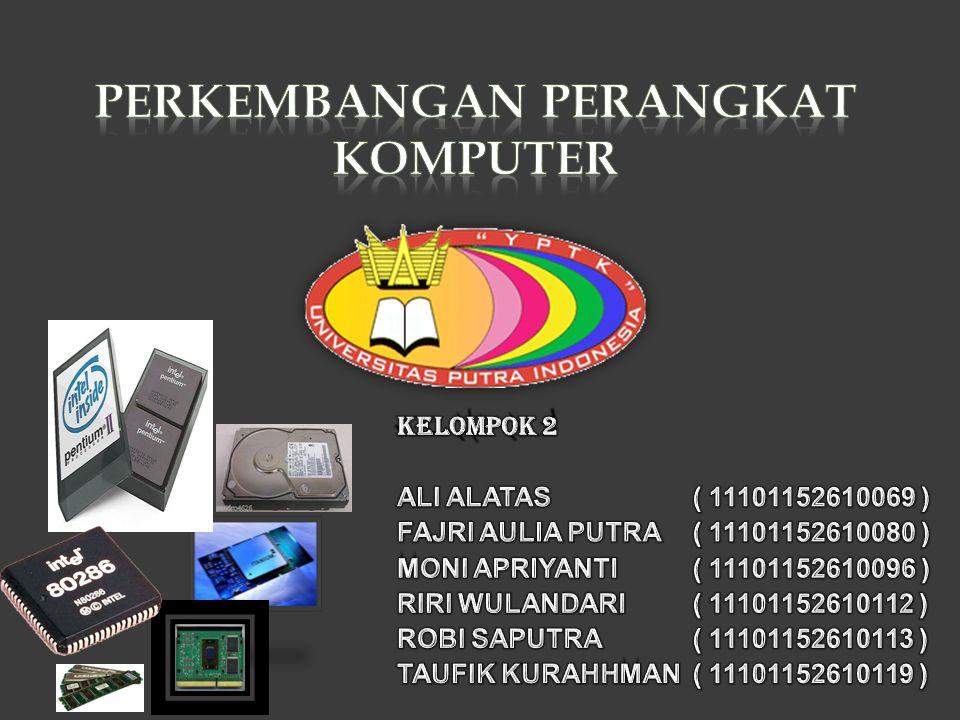  3.FP RAM Fast Page Mode DRAM atau disingkat dengan FPM DRAM ditemukan sekitar tahun 1987.