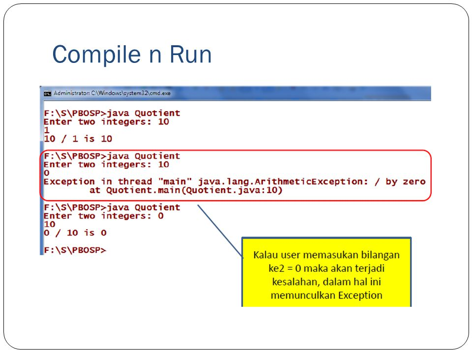 Compile n Run