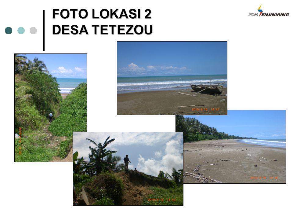 FOTO LOKASI 2 DESA TETEZOU