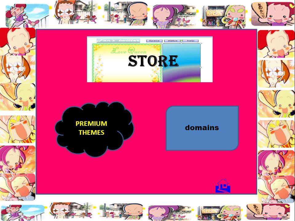 STORE PREMIUM THEMES domains 