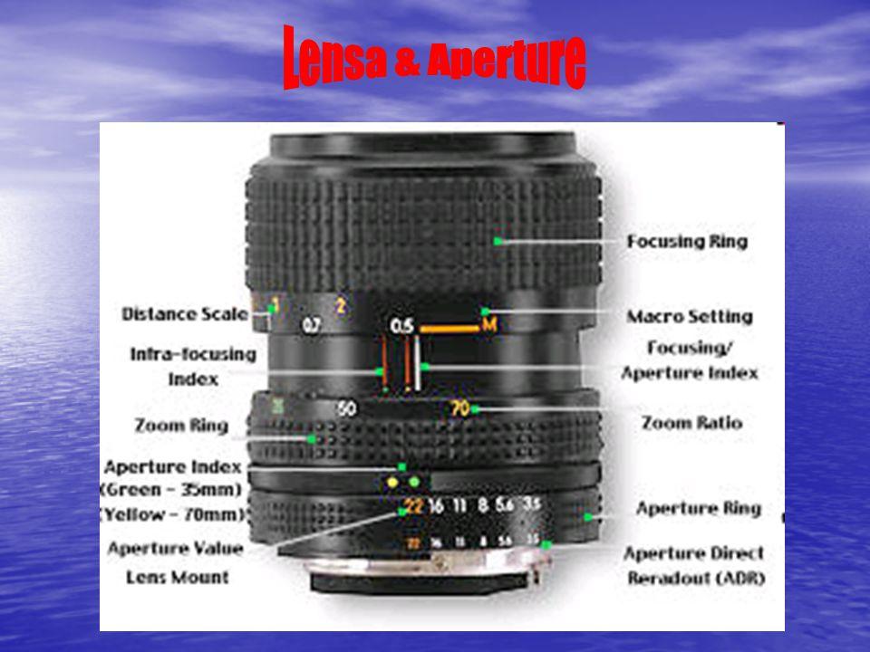 Lensa terbuat dari berbagai elemen kaca, dan ini adalah bagian terpenting yang menentukan ketajaman dan fokus pemotretan.