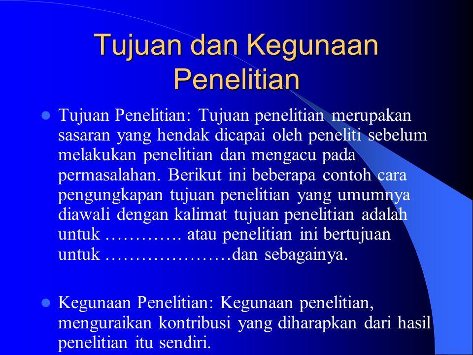 4.HASIL PENELITIAN DAN BAHASAN a.