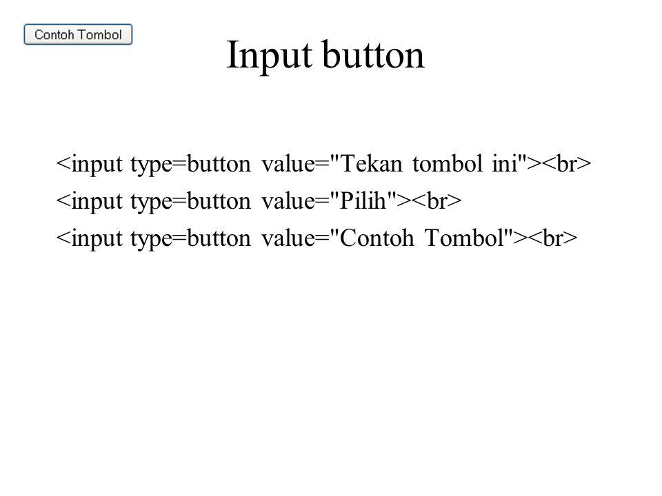 Input button