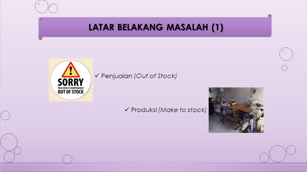 Merancang sistem peramalan penjualan untuk perencanaan produksi barang, untuk membantu manager dalam menentukan jenis barang yang akan diproduksi pada musim-musim tertentu di Distro OR-K 689 RUMUSAN MASALAH