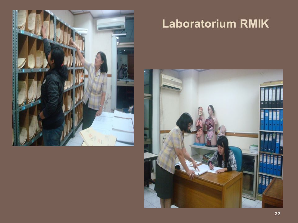 32 Laboratorium RMIK