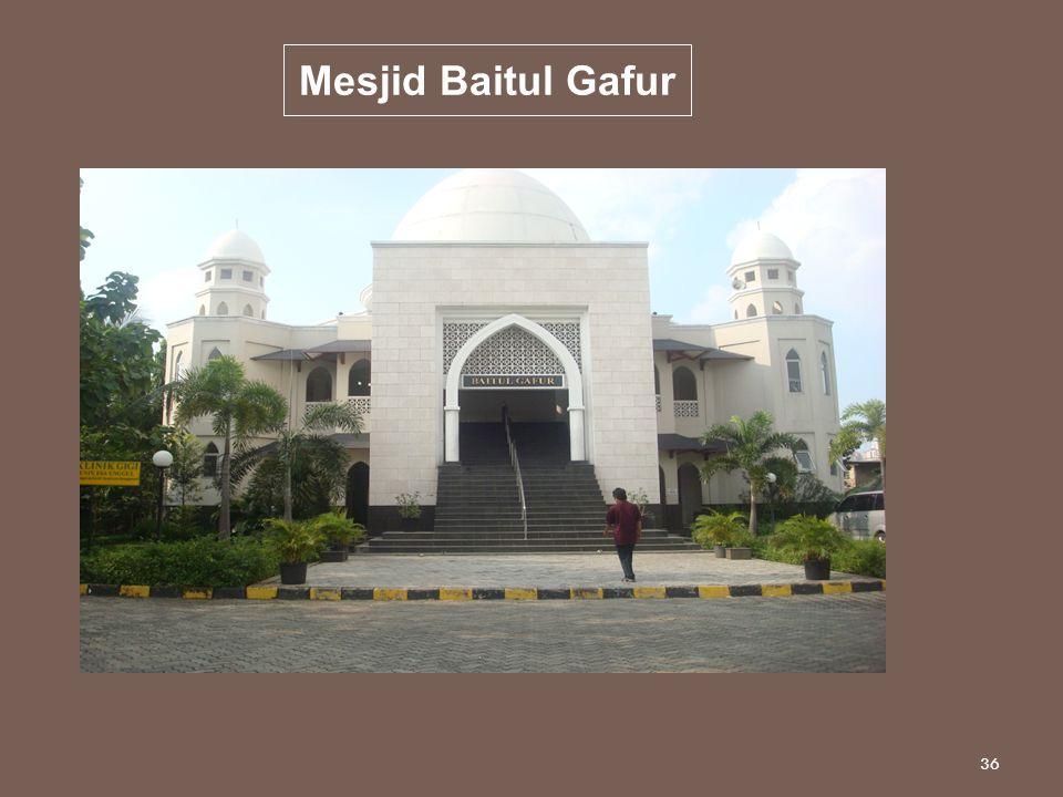 36 Mesjid Baitul Gafur