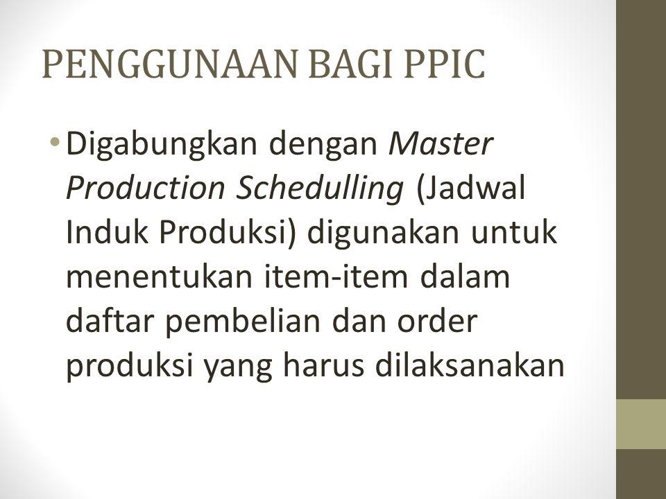PENGGUNAAN BAGI ACCOUNTING Digunakan dalam menghitung biaya produk dan harga jual