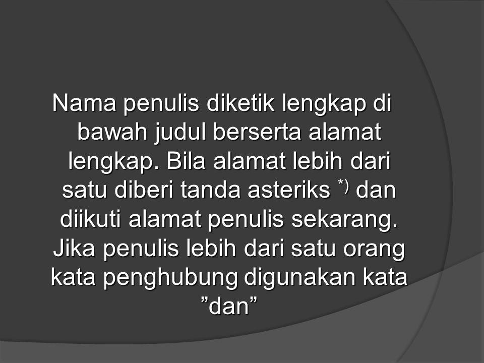 CONTOH Pengulangan tulisan dengan judul berbeda CONTOH Pengulangan tulisan dengan judul berbeda 1.KTI (Independensi Bank Indonesia dan Kebijakan Moneter), isi sama dengan dengan KTI (Reformasi Bank Indonesia dan Arah Kebijakan Moneter) (judul identik, pendahuluan, substansi dan simpulan senada, sedangkan referensi sama 2.KTI (Social Capital and Acess of Rural Poor to Microfinance : Lessons From Javanesse Villages) substansi sama dengan KTI (The Role of Social Capital in Microfinance : Evidence from Rural Java Indonesia) (Judul, substansi, metodologi sama) 3.KTI (The Perspectives Toward the East Asian Monetary Cooperation : The Cases of Thailand and Malaysia) sama dengan KTI (Perspectives on East Asian Monetary Cooperation) (judul, sub-heading, kesimpulan dan referensi sama)