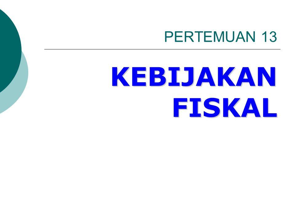 Kebijakan fiskal  Meliputi: Penggunaan pengeluaran pemerintah dan kebijakan Pajak untuk mengeser Kurva AE dan AD ke arah posisi pendapatan nasional yang diinginkan.