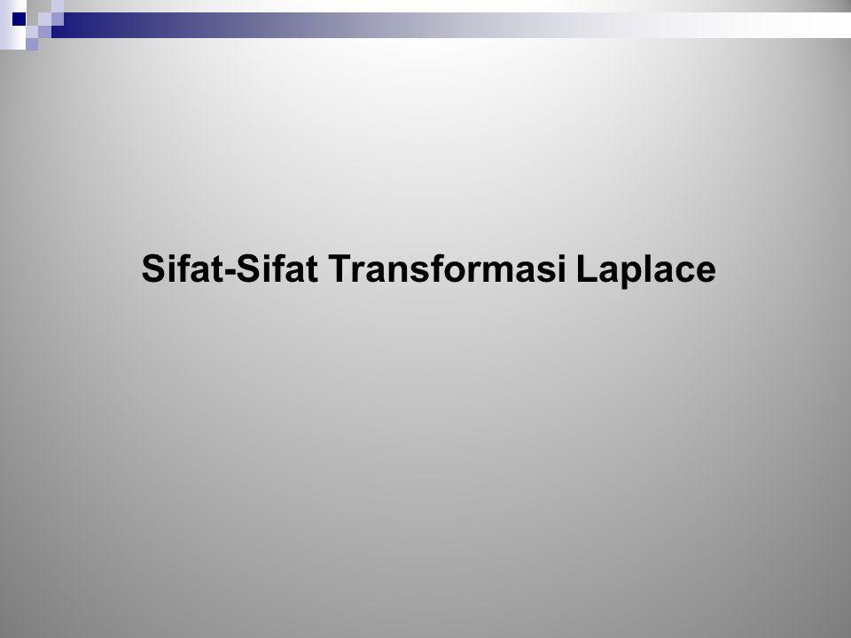 Sifat-Sifat Transformasi Laplace