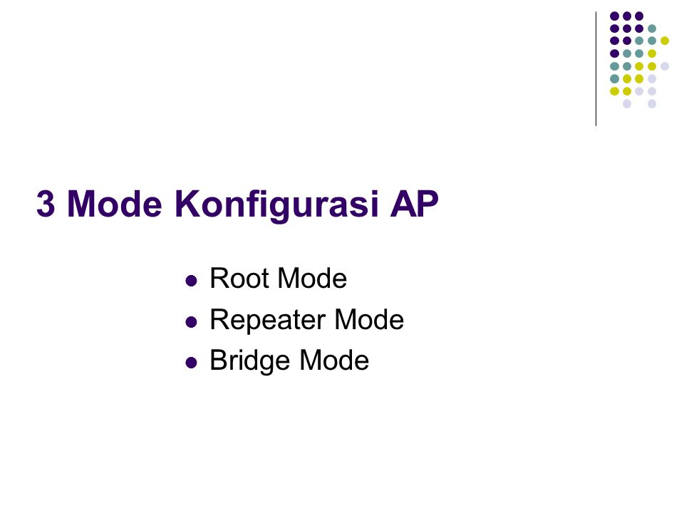 Root Mode